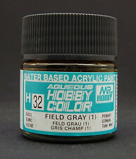 GUNZE SANGYO H32 Field Gray (1) water based acrylic paint 10 ml