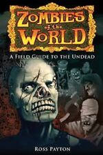 Zombies of the world field guide livre rare!!!