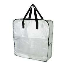 IKEA DIMPA Storage Bag Big, Transarent Sport Design For Camping & Shopping NEW