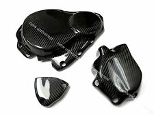 2006-2007 Suzuki GSXR600 GSXR750 K6 Carbon Fiber Engine Cover & Clutch Cover