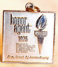 1975 STERLING SILVER LIBERTY NATIONAL LIFE INSURANCE COMPANY HONOR AGENT PENDANT