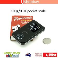 Mini Pocket 100gm Digital Scale Mp3 Blue style Ultrathin 100g/0.01g APTP445