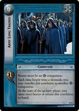 LoTR TCG Ages End Army Long Trained FOIL 19P5