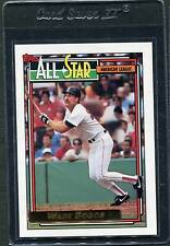 1992 Topps Gold Wade Boggs AS #399 Mint