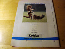 PUBBLICITA' ADVERTISING WERBUNG 1989 SARIDON COMPRESSE (G38)