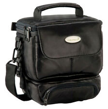 CULLMANN GRANADA Twin 1 DV bag black soft leather for camera camcorder cheap