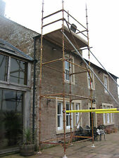 Kwikstage 6.5 Meter Erecting Scaffold Tower,  Access Platform,DIY 8 x 4 x  21ft