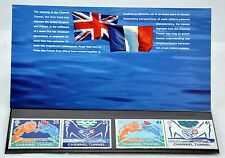 Great Britain. Channel Tunnel Booklet/stamps 1994 Scott 1558-1561. MNH (BI#B29)