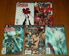 OMEGA FLIGHT #1-5 MARVEL COMICS 2007 SET (5)