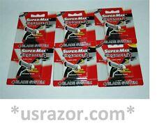 18 Supermax Elegance 4 BLADES Razor fit Gillette Sensor3 Excel Refill Cartridges