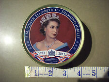 Queen Elizabeth II Diamond Jubilee Sweet Tin