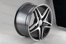 "18"" MERCEDES BENZ AMG GUNMETAL RIMS FITS E CLASS E350 E320 E500 E550 4MATIC AWD"