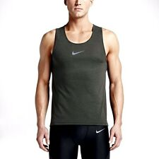 MEN'S SIZE LARGE NIKE AEROREACT RUNNING SINGLET TANK TOP 717974 $80 RETAIL