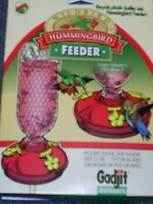 Gadjit HUMMINGBIRD FEEDER ATTACHMENTS FOR RECYCLING SODA POP BOTTLE, Made in USA