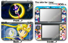 Sailor Moon Amazing Cute Skin Sticker Decal Cover for NEW Nintendo 3DS XL