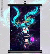 "8""*12"" Home Decor Japanese Anime VOCALOID hatsune miku Wall Poster Scroll 78"