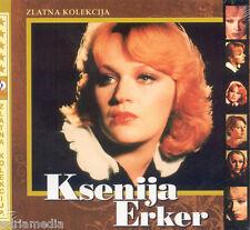 KSENIJA ERKER 2 CD Zlatna Kolekcija Hit Bokeljska noc Vlakovi idu Zagreb Croatia