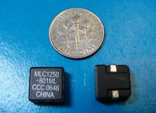 Coilcraft 0.8uH 12.4A Power Inductor MLC1250-801MLC, Qty. 10pcs