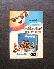 K748- Advertising Pubblicità -1981- GIG , PLAYMOBIL MILLEVITE