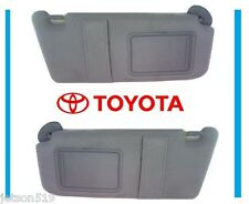 2007 2008 2009 2010 2011 TOYOTA CAMRY GRAY SUN VISOR  SET NEW WITH SUNROOF