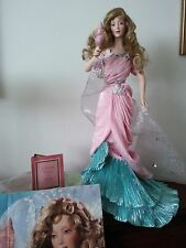 Cyrena Princess of Atlantis porcelain doll Franklin Heirloom