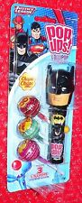Flix Candy Pop ups Lollipop  BATMAN on Justice League Card