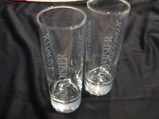 Set of two (2) Courvoisier Drink Glasses, Medium Weight
