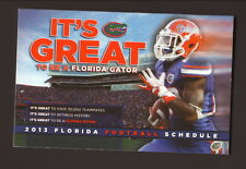 2013 Florida Gators Football Schedule--SunTrust