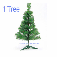 "24""/2FT Holiday Decor Pine Green Fake Artificial Christmas Tree Office W/Stand"