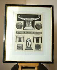 1925 PHOTOGRAVURE of GEORGES DE BARDYERE WOOD CARVING. ARTS DECORATIF PLATE #8