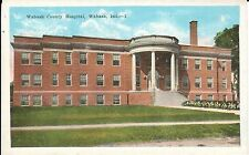 1920's The Wabash County Hospital in Wabash, IN Indiana PC