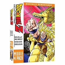 Dragon Ball Z . Movie Pack 3 Three . Movies 10 11 12 13 . Anime . 4 DVD NEU OVP