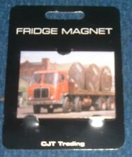 Fridge Magnet AEC 8 Wheeler with Cable Drum from picture by artist Mike Jeffries