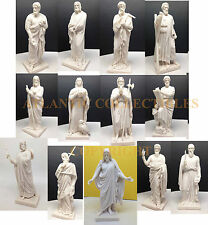THORVALDSEN MUSEUM TWELVE APOSTLES AND JESUS FIGURINE SET DISCIPLES CHRISTIAN