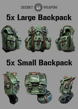 Secret Weapon BNIB - (10) Mixed Backpack Set (5x Large 5x Small)