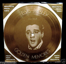 ELVIS PRESLEY-GOLDEN MEMORIES-IMPORT PICTURE DISC-ROCKABILLY-Big Hunk O' Love