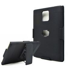 Black Belt Clip Swivel Kickstand Holster Case Cover for BlackBerry Passport Q30
