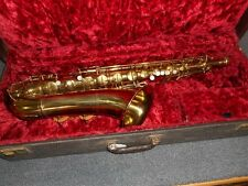 NEAR MINT 1946 Pan American by Conn Tenor Saxophone, Serial #57413