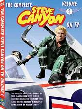 ALL NEW Steve Canyon TV VOL 1 DVD features 1st 12 shows