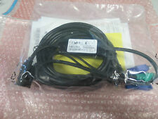 New Genuine Dell P750-010 Lite KVM Switch Cable PS/2 Kvm Cable 890RF 0890RF