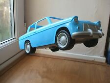 HARRY POTTER RON WEASLEY'S FORD ANGLIA BLUE FLYING CAR MATTEL TOY