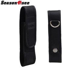 PALIGHT 13x3.5CM Nylon Flashlight Holster/Pouch Bag for 5cm/2'' Molle Belt