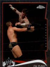 2014 Topps Chrome WWE #12 CM Punk