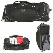 Trolley BIG BAG XXL 92 Tauchtrolley Rolltasche Reisetrolley SCHWARZ 3457NY +TSA