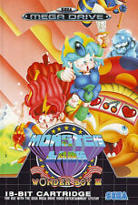 ##  SEGA Mega Drive - Wonder Boy 3: Monster Lair / MD Spiel ##