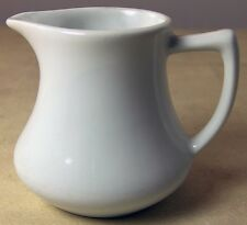White Porcelain China CREAMER PITCHER from Inter-American 3 inches tall