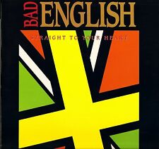 "BAD ENGLISH straight to your heart 657420 8 uk epic 1991 12"" PS EX+/EX"