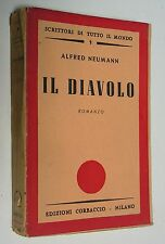 Il diavolo - Alfred Neumann - Corbaccio ed. - 3521