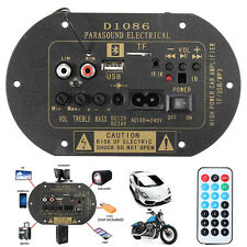 FAI DA TE 80W HIGH POWER 12V / 24V / 220V BLUETOOTH SUBWOOFER AUTO HI-FI Amplifier Board TF