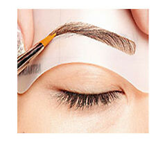 24 Styles Eyebrow Grooming Stencil Kit Template Make Up Shaping Shaper Tools Hot